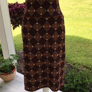 3XL LuLaRoe Cassie Pencil Skirt